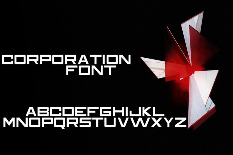 Corporation Font