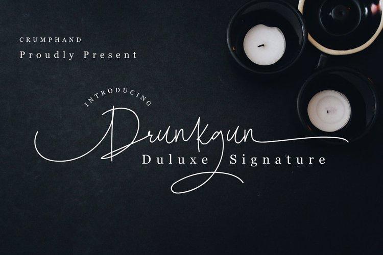 Drunkgun Font