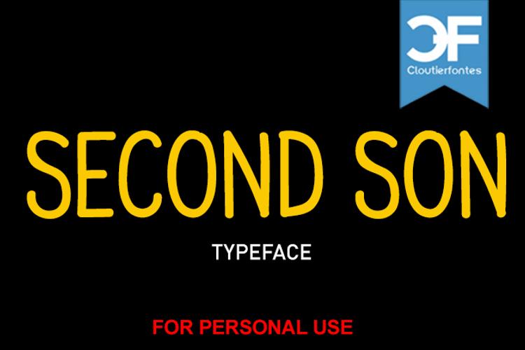 CF Second Son Font