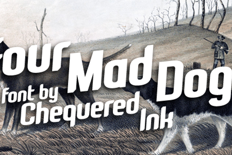 Four Mad Dogs Font