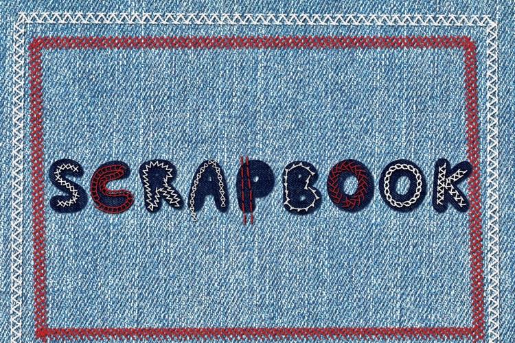 Scrapbook Font