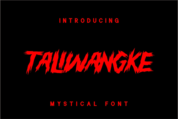 TALIWANGKE Font