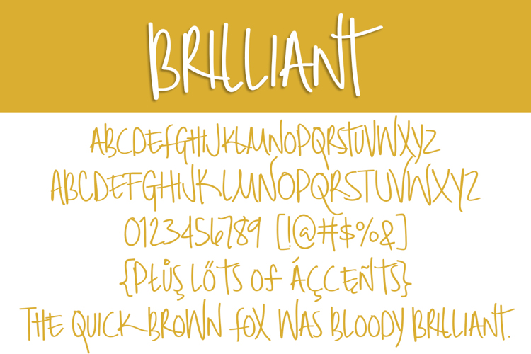 Brilliant Font