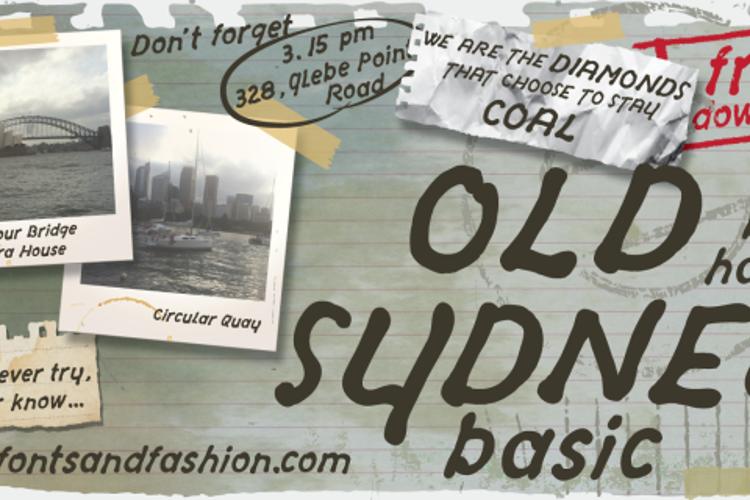 OLD SYDNEY_DEMO Font