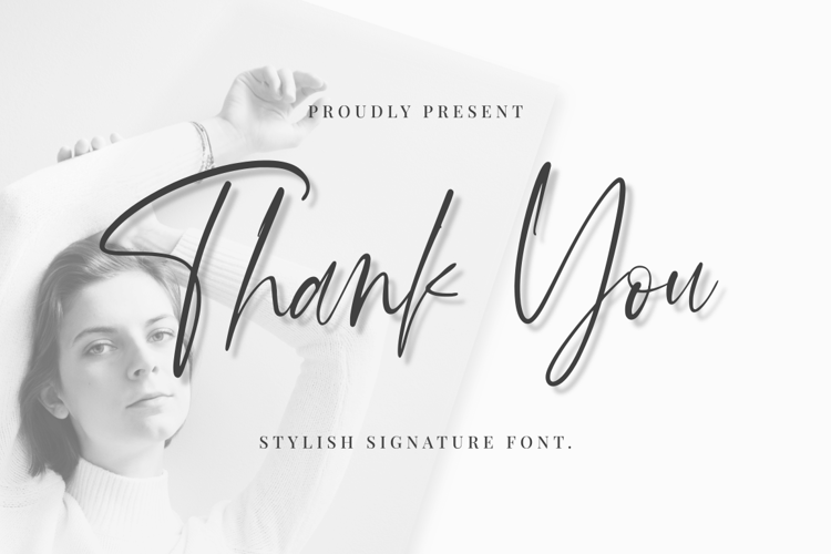 Thank You Font