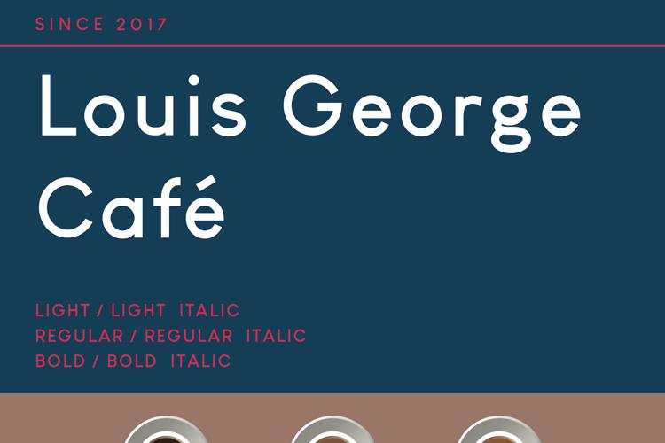 Louis George Café Font