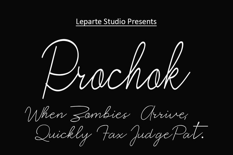Prochok Font