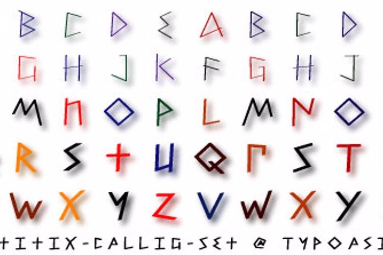 Petitix Three Callig Font