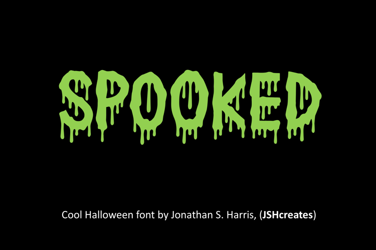 Spooked Font