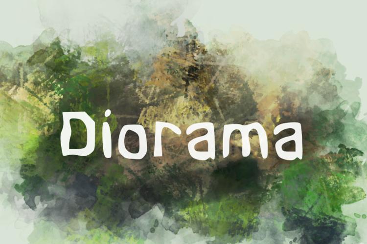 d Diorama Font