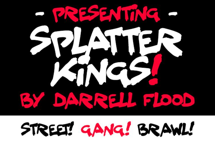 Splatter Kings Font