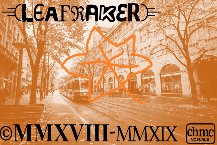 Leafraker Font