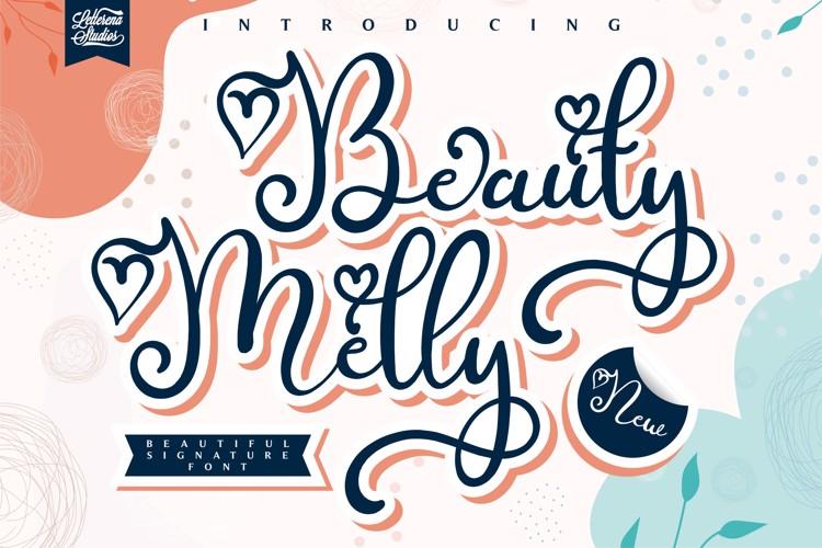 Melly Beauty Font