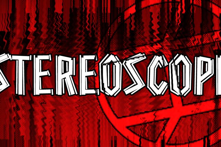 Stereoscope Font