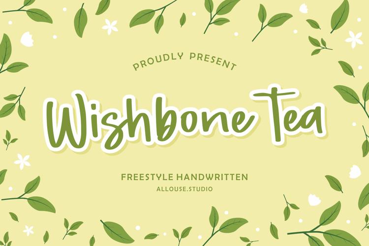 Wishbone Tea Font