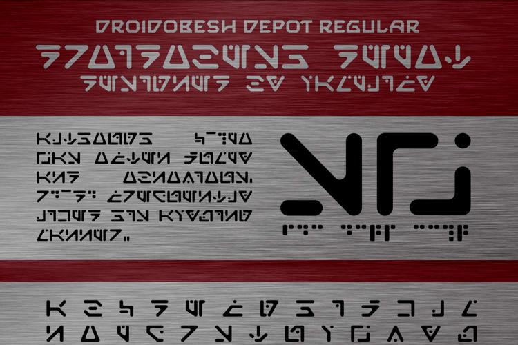 Droidobesh Depot Font
