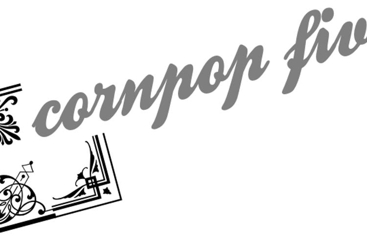 Corn Pop Five Font