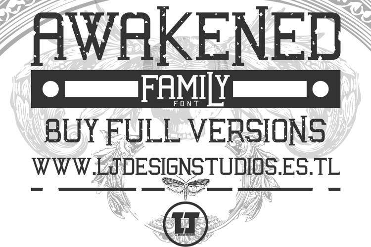 Awakened Font
