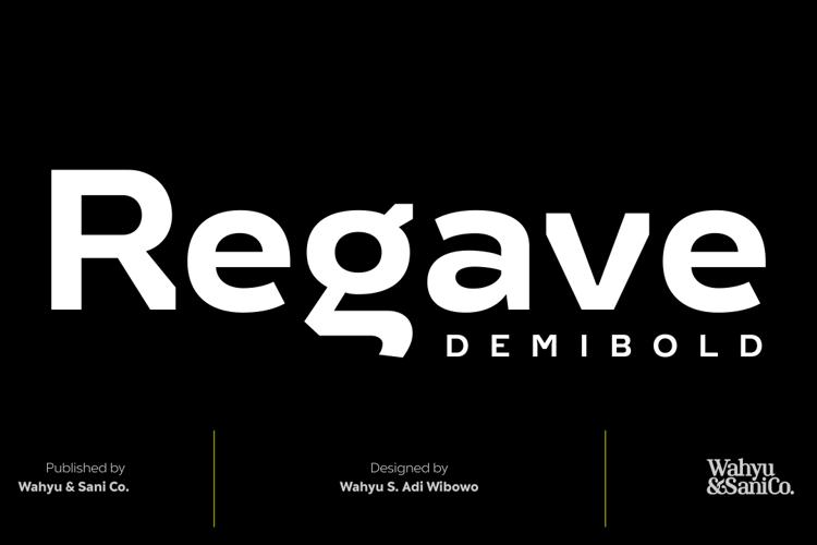 Regave Font