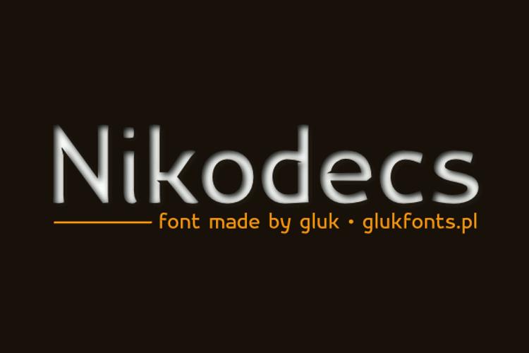 Nikodecs Font