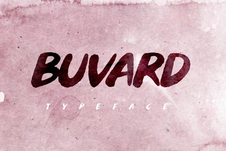 Buvard Font