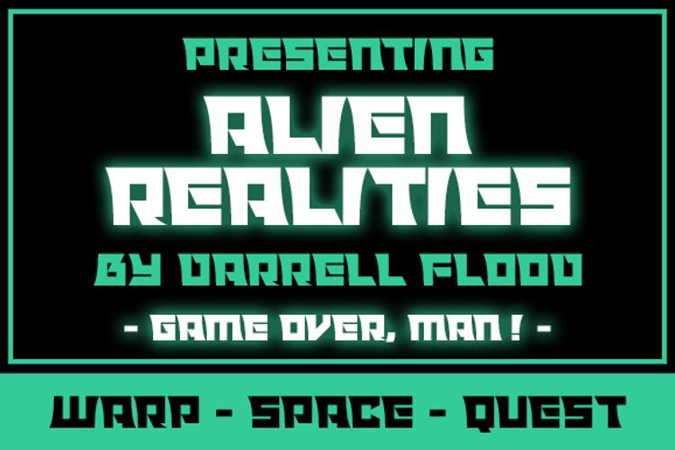 Alien Realities Font