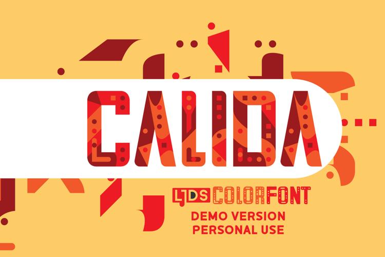 LJDS Calida Font