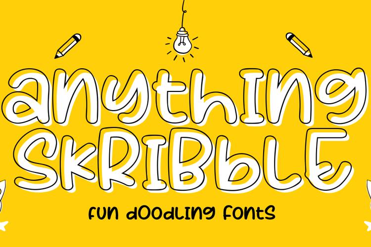 Anything Skribble Font