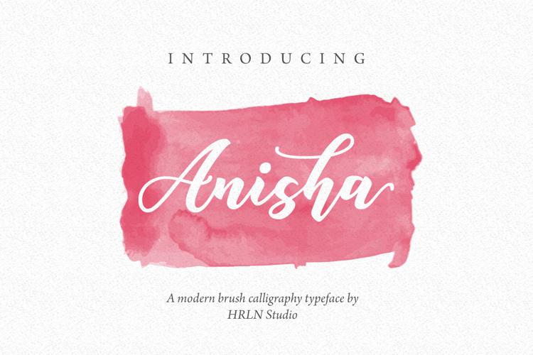 Anisha Free Font