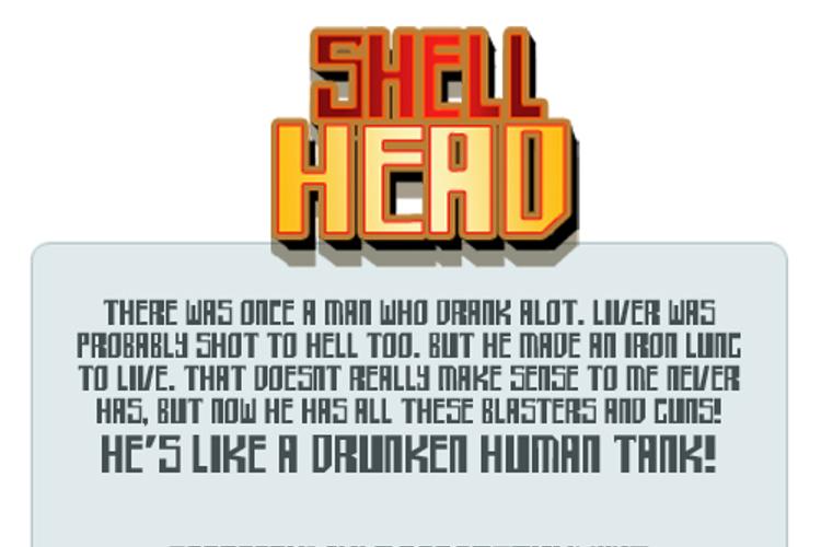 shellhead Font