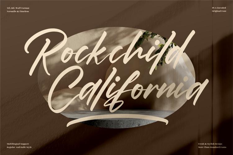 Rockchild California Font