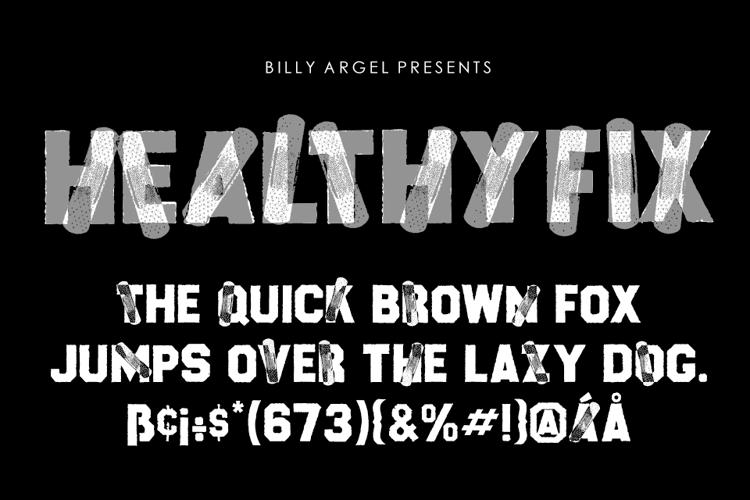 HEALTHYFIX Font