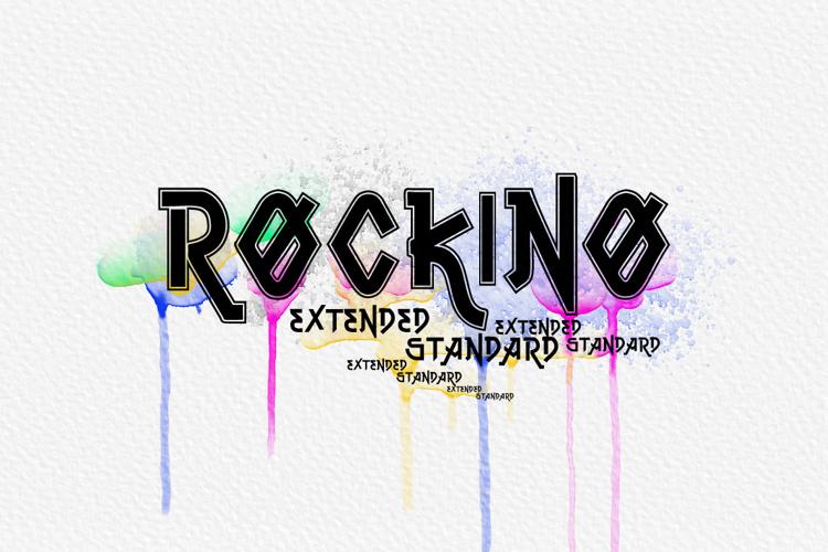 Vtks Rockino V2 Font