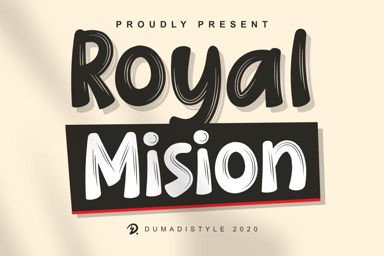 Royal Mision Font