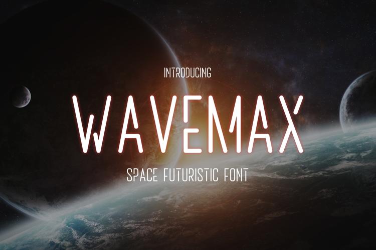 Wavemax Font