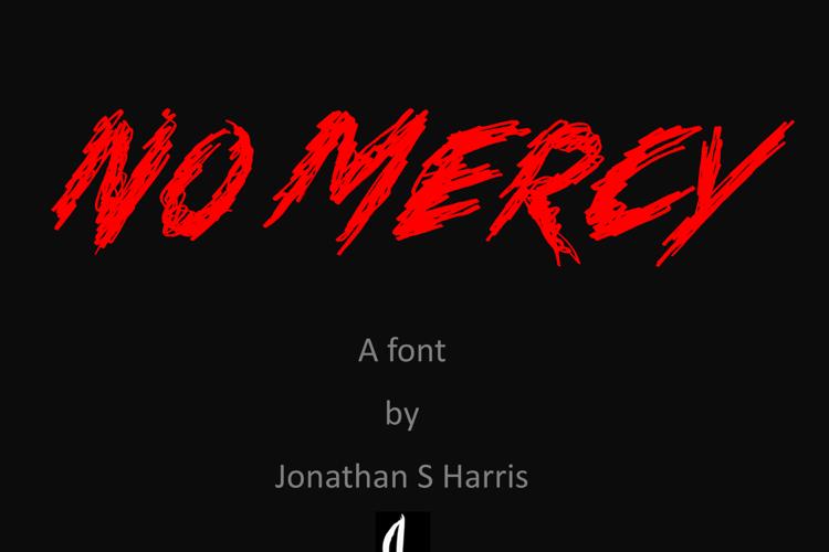 No Mercy Font