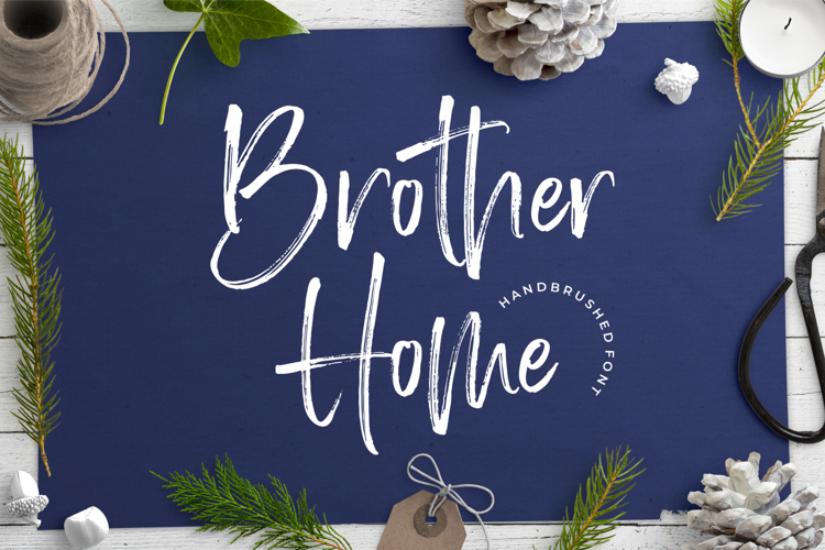 Brother Home Font