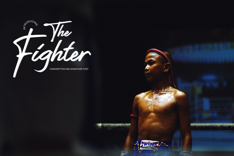 The Fighter Font