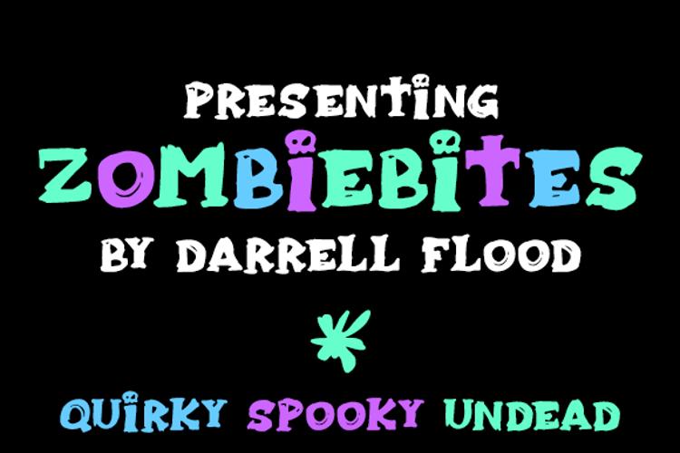 Zombiebites Font