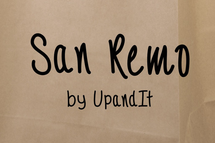 SanRemo Font