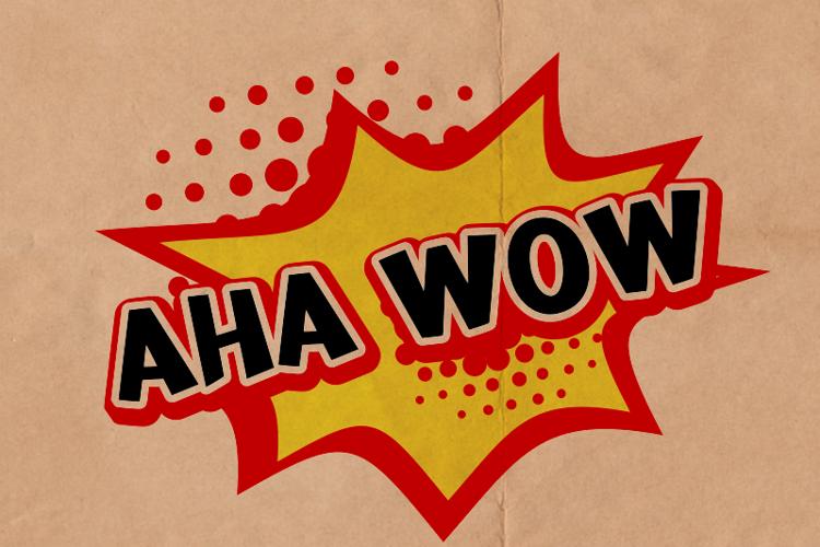 a Aha Wow Font