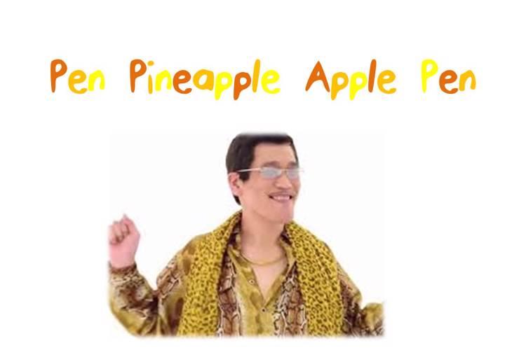 PenPineappleApplePen Font