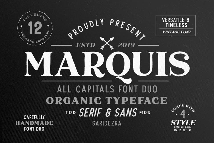 Marquis Serif Font