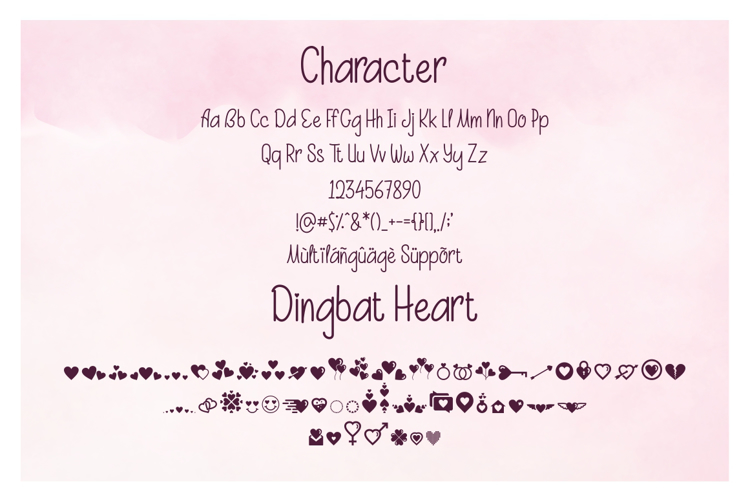 Beauty And Love SansFree Font