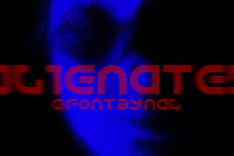 Alienated Font