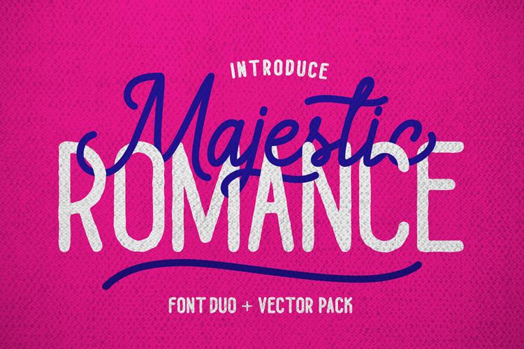 Majestic Romance Font