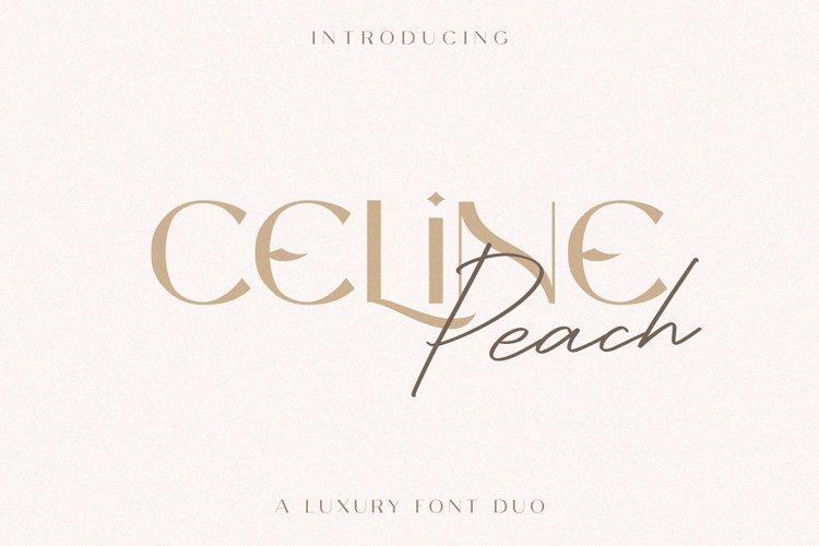 Celine Peach Script Font