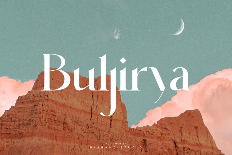 Buljirya Font