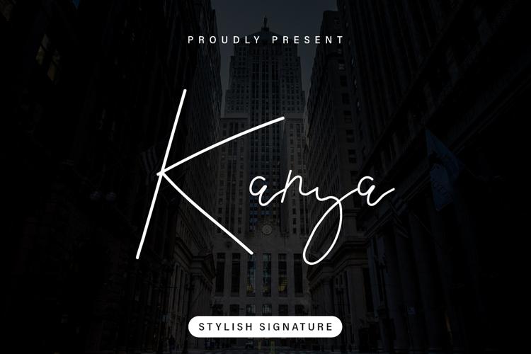 Kanya Font