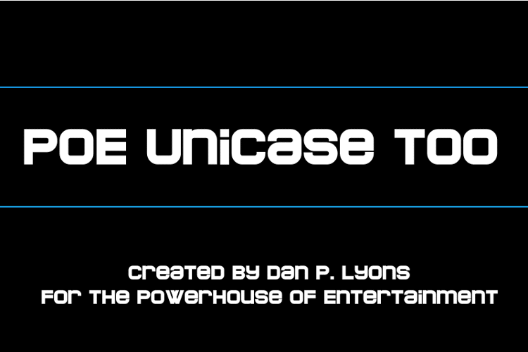 POE Unicase Too Font